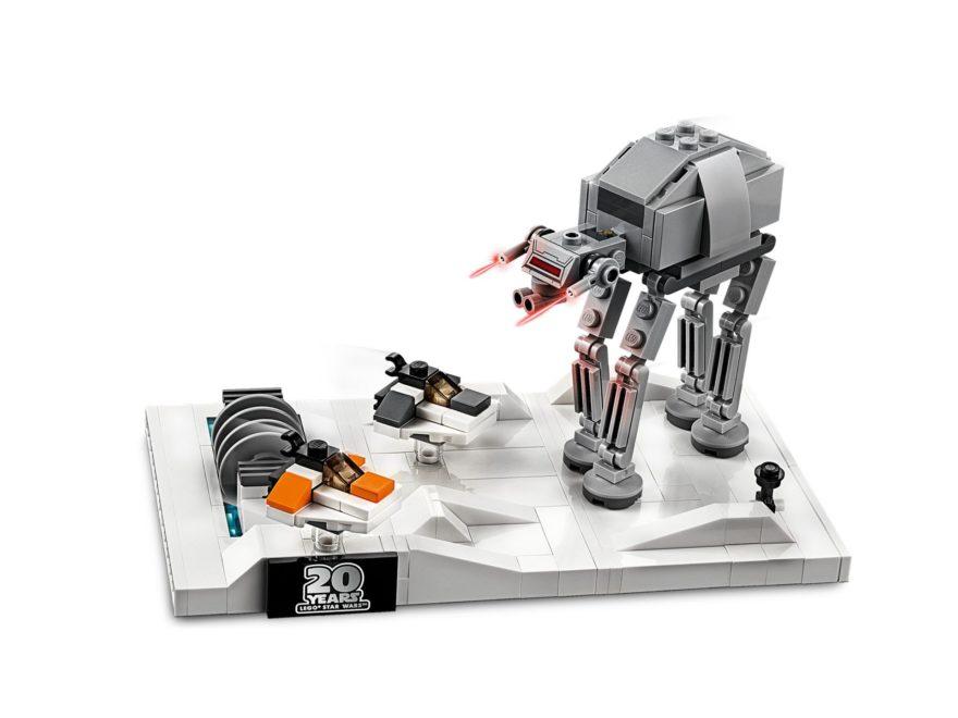 LEGO® Star Wars™ 40333 Schlacht um Hoth - 20. Jubiläums-Edition - Titelbild | ©LEGO Gruppe
