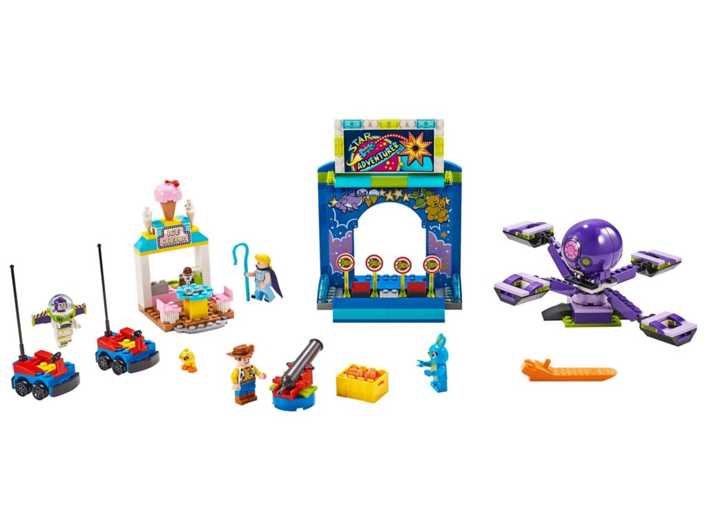 LEGO® 10770 Buzz & Woodys Jahrmarktspaß - Bild 1 | ©LEGO Gruppe