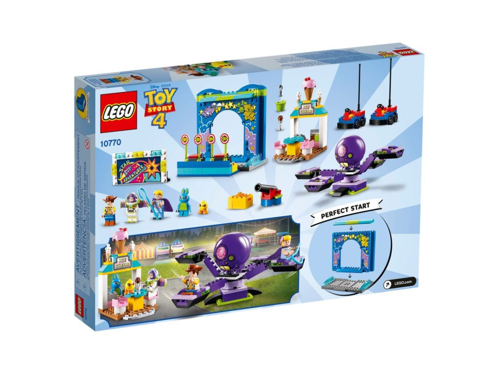 LEGO® 10770 Buzz & Woodys Jahrmarktspaß - Bild 2 | ©LEGO Gruppe