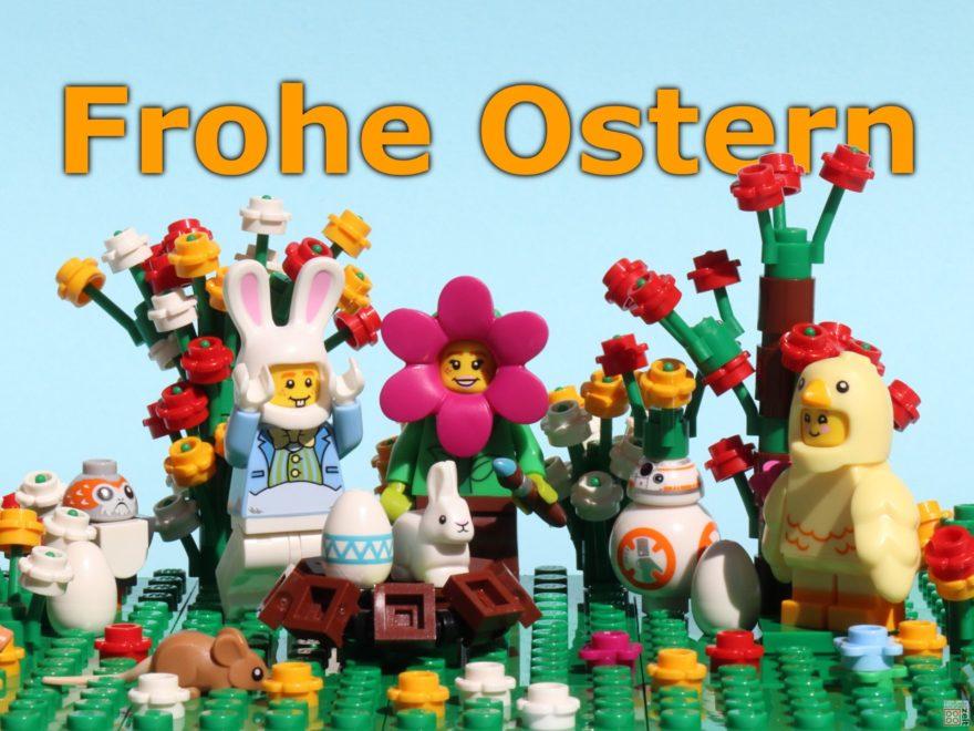 Frohe Ostern 2019 - Titelbild | ©2019 Brickzeit