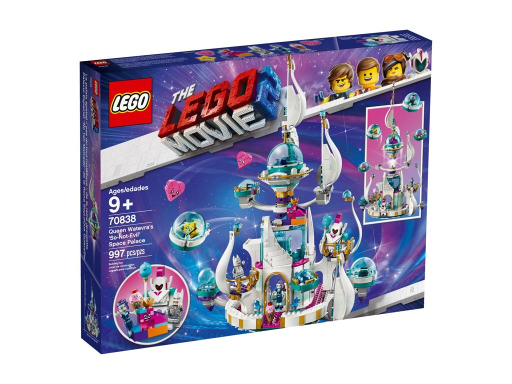 THE LEGO Movie 2 Queen Watevra's 'So-Not-Evil' Space Palace (70838)   ©LEGO Gruppe