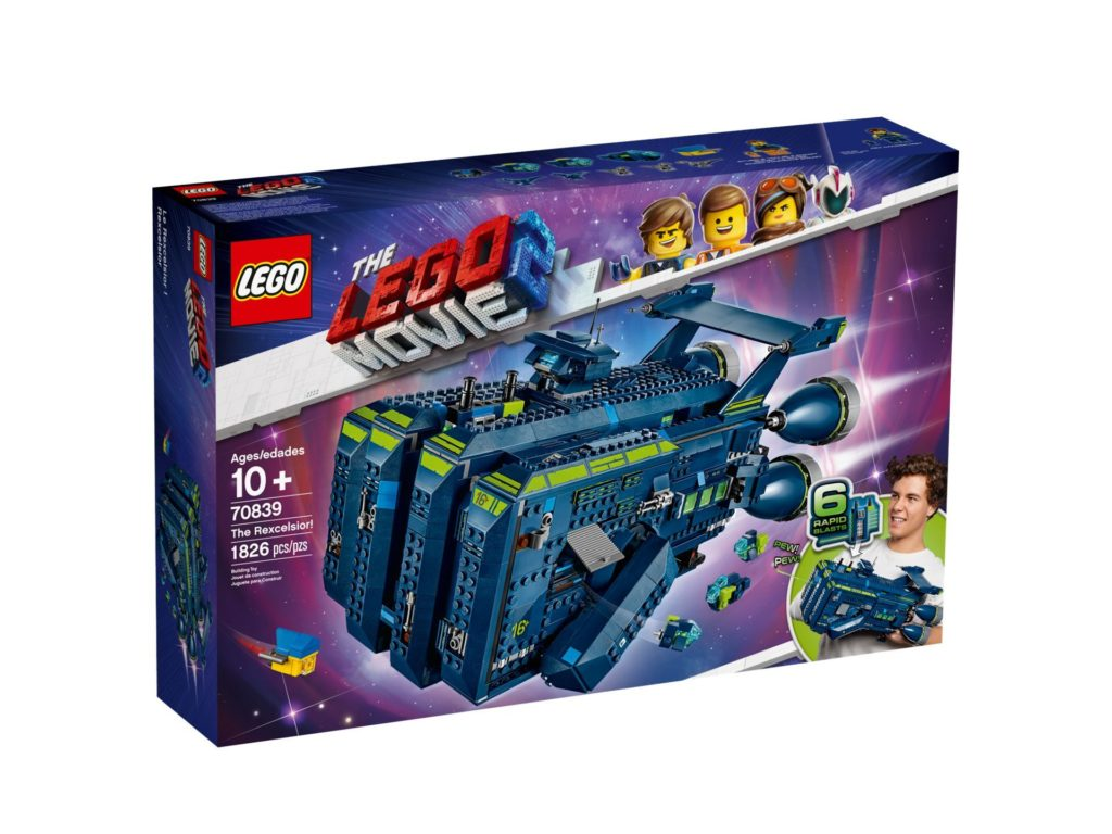 THE LEGO® Movie 2 Die Rexcelsior (70839) | ©LEGO Gruppe