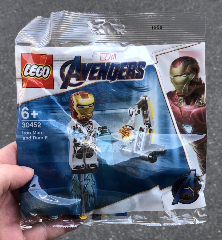 LEGO Marvel 30452 Iron Man und Dum-e | ©️2019 Brickzeit