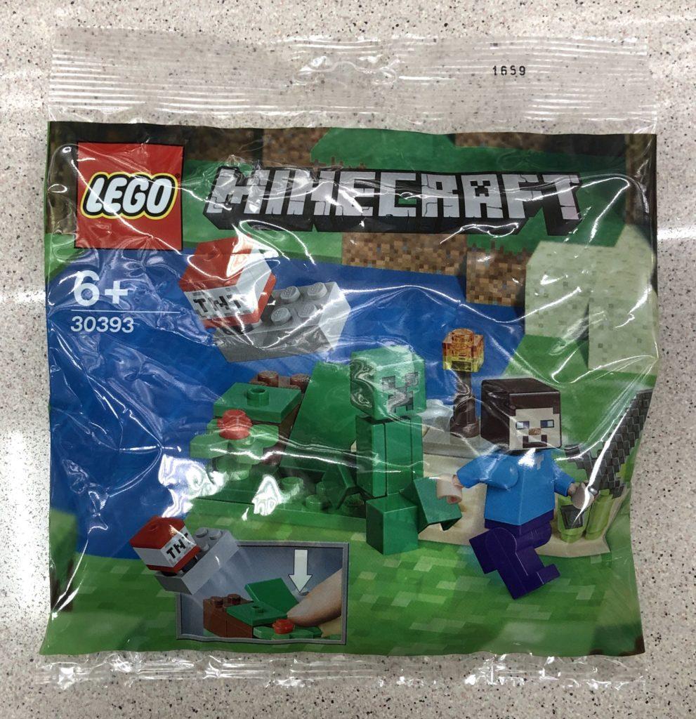 LEGO® Minecraft 30393 Steve und Creeper | ©Brickzeit