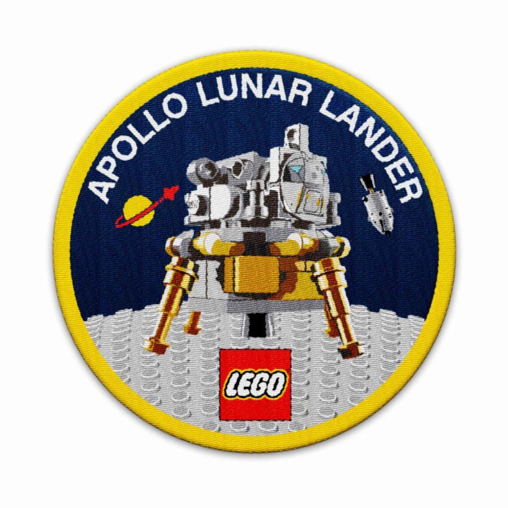 LEGO® VIP NASA Aufnäher 5005907 als Gratisbeigabe | ©LEGO Gruppe