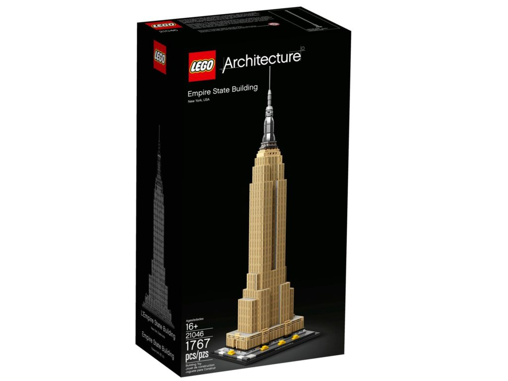 LEGO® Architecture 21046 Empire State Building - Packung Vorderseite | ©LEGO Gruppe
