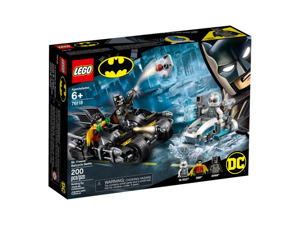 LEGO® DC Super Heroes 76118 Batcycle-Duell mit Mr. Freeze™ | ©LEGO Gruppe
