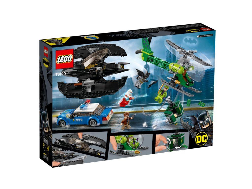 LEGO® DC Super Heroes 76120 Batman™: Batwing und der Riddler™-Überfall | ©LEGO Gruppe
