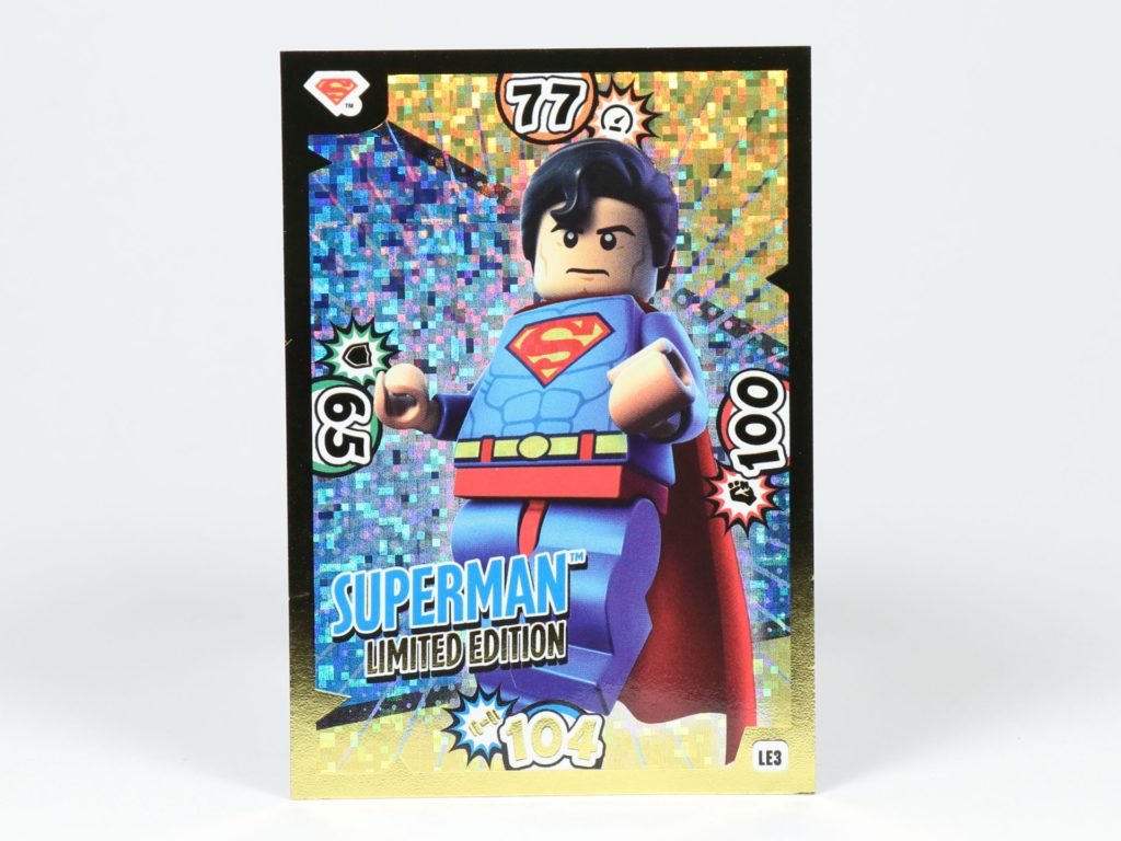 LEGO® Batman Magazin Nr. 3 - Superman Sammelkarte | ©2019 Brickzeit