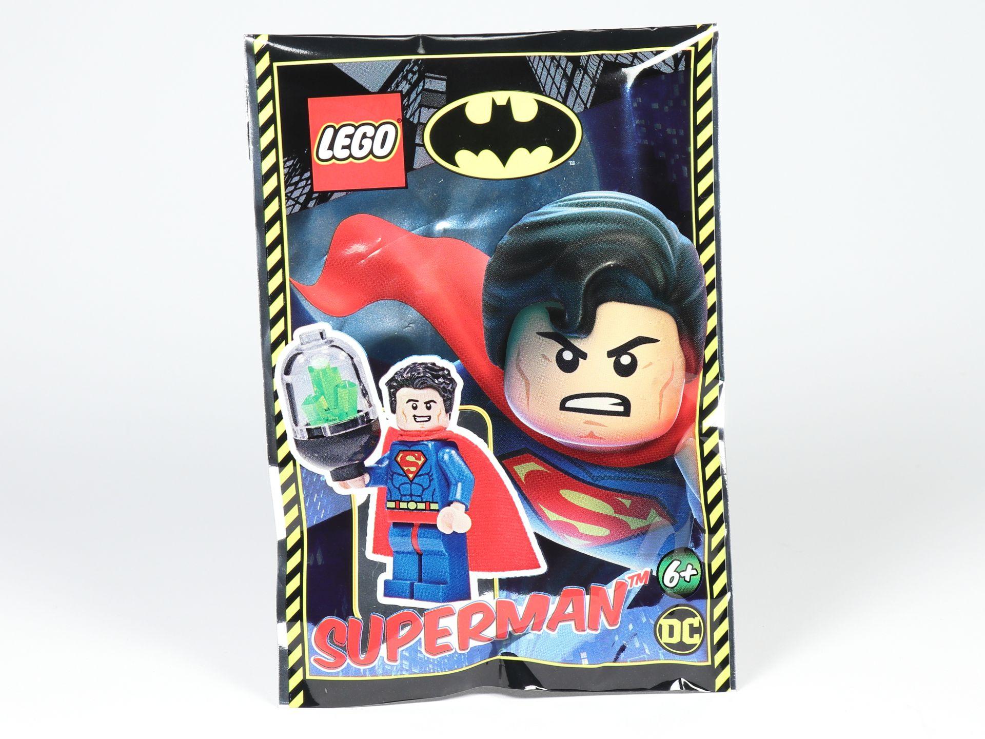 Superman Mit Kryptonit Neu Im Polybag Lego Batman