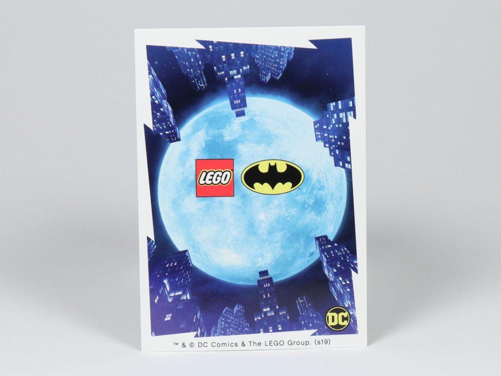 LEGO® Batman Magazin Nr. 3 - Superman Sammelkarte, Rückseite | ©2019 Brickzeit