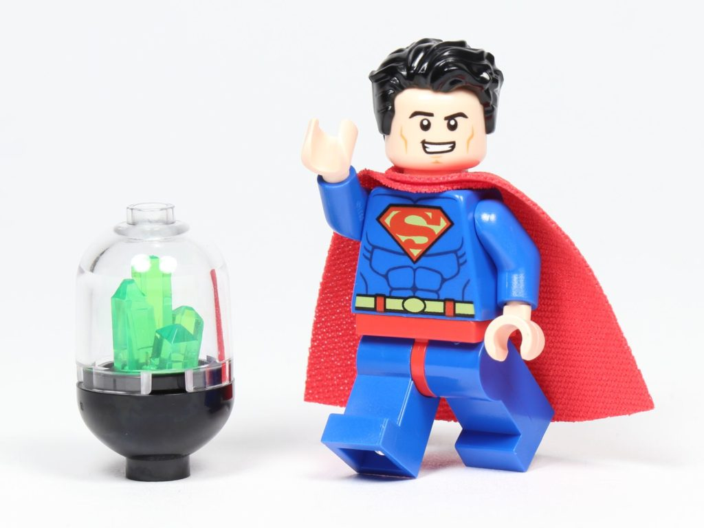LEGO® Batman Magazin Nr. 3 - Superman mit Kryptonit-Behälter | ©2019 Brickzeit