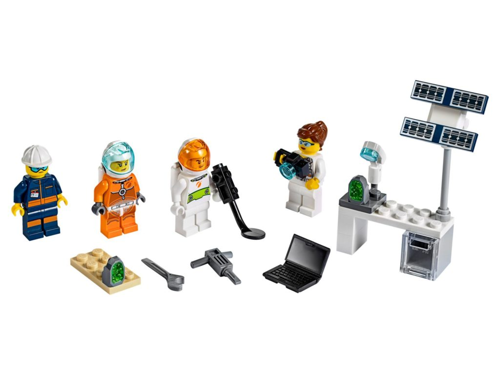 LEGO® City 40345 Mars Exploration Minifiguren | ©LEGO Gruppe