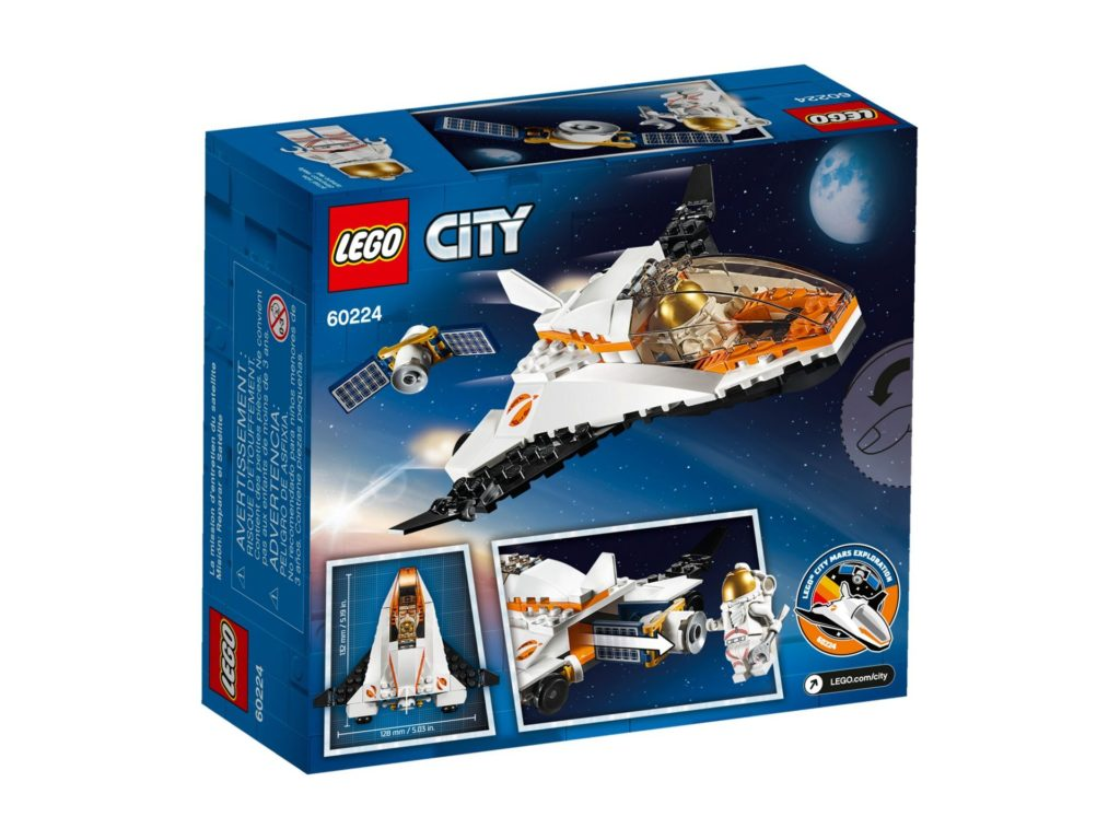 LEGO® City 60224 Satelliten-Wartungsmission | ©LEGO Gruppe