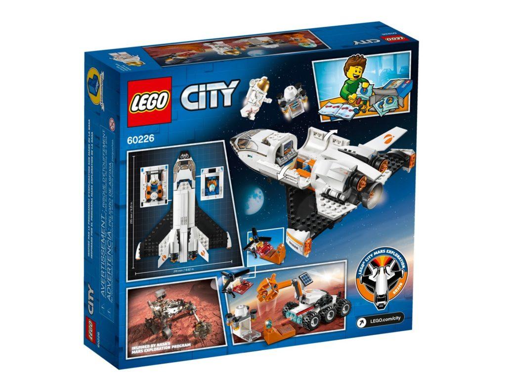 LEGO® City 60226 Mars-Forschungsshuttle | ©LEGO Gruppe