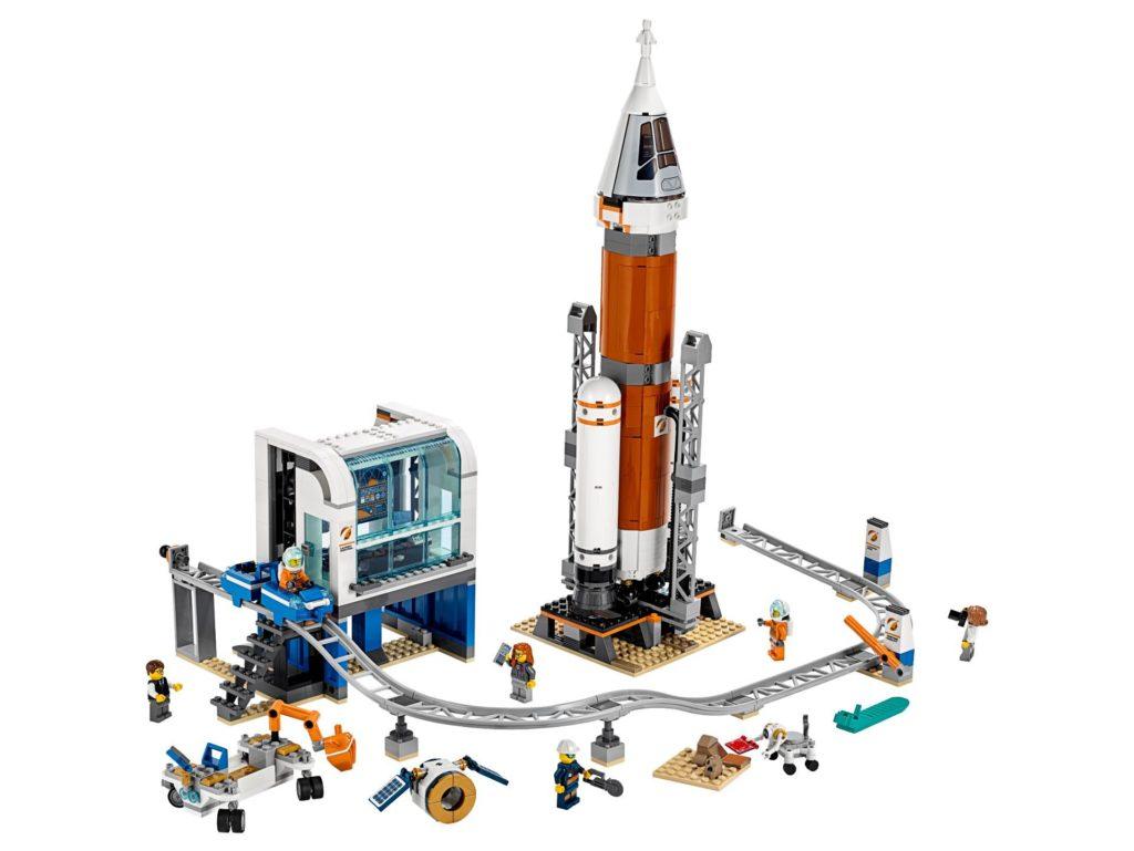 LEGO® City 60228 Weltraumrakete mit Kontrollzentrum | ©LEGO Gruppe