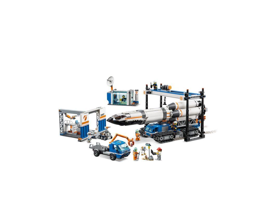 LEGO® City 60229 Raketenmontage & Transport | ©LEGO Gruppe
