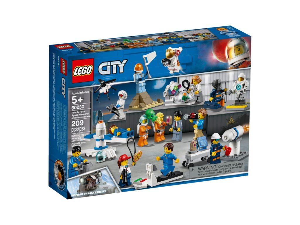 LEGO® City 60230 Stadtbewohner - Weltraumforschung und -entwicklung | ©LEGO Gruppe