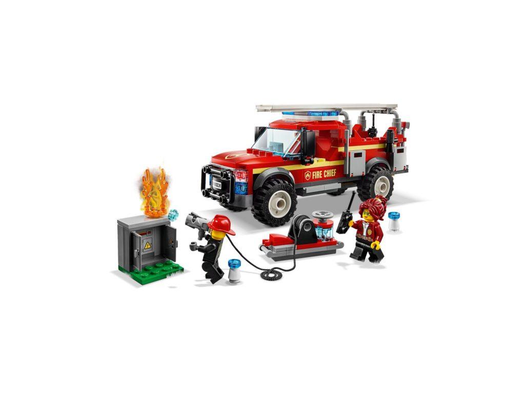 LEGO® City 60231 Feuerwehr-Einsatzleitung | ©LEGO Gruppe