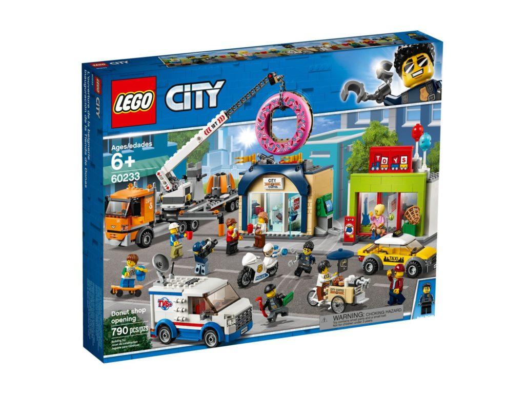 LEGO® City 60233 Große Donut-Shop-Eröffnung | ©LEGO Gruppe