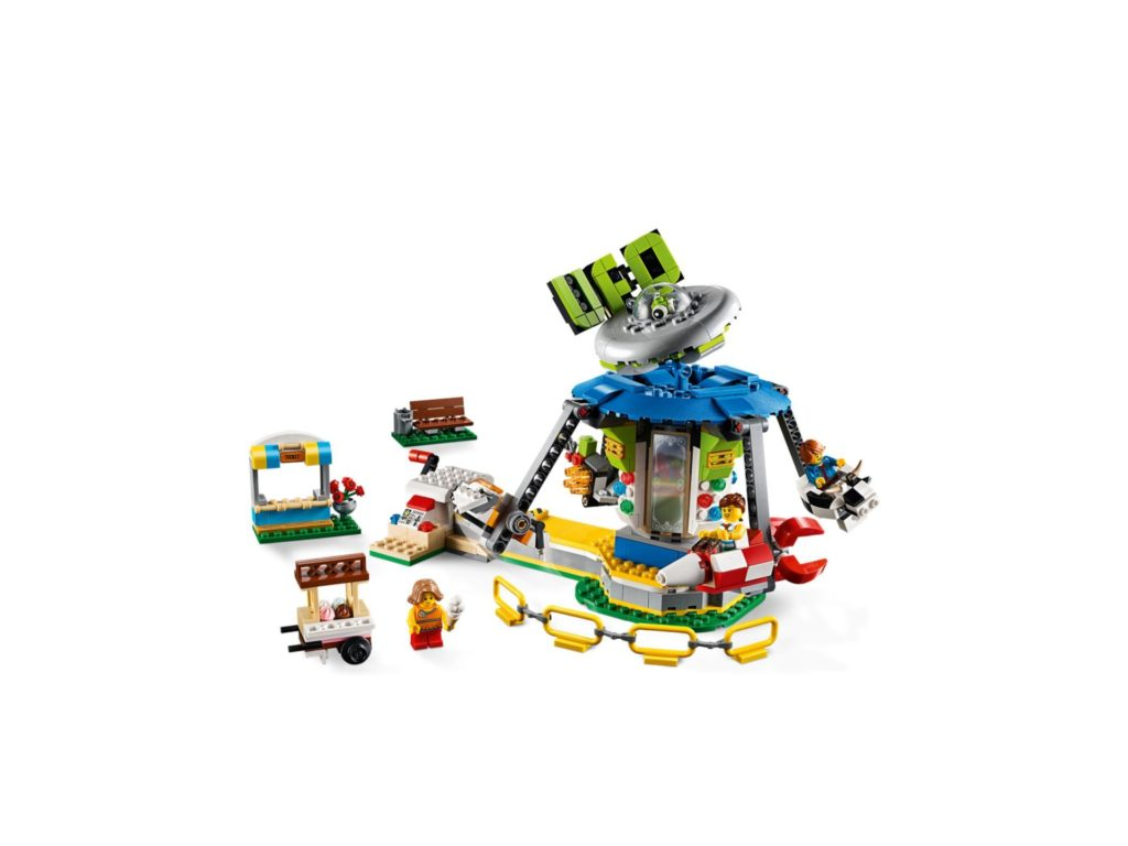 LEGO® Creator 3-in-1 31095 Jahrmarktkarussell | ©LEGO Gruppe