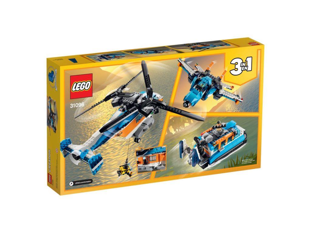 LEGO® Creator 3-in-1 31096 Doppelrotor-Hubschrauber | ©LEGO Gruppe
