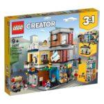 LEGO® Creator 3-in-1 31097 Stadthaus mit Zoohandlung & Cafe | ©LEGO Gruppe