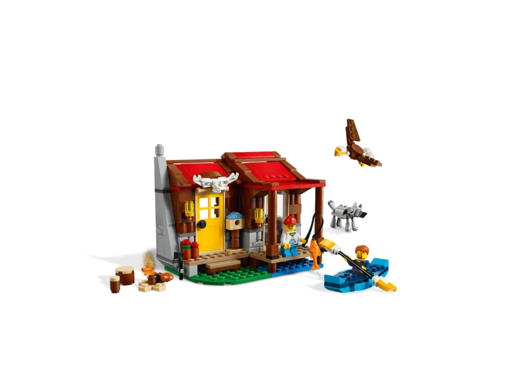 LEGO® Creator 3-in-1 31098 Outback-Hütte | ©LEGO Gruppe