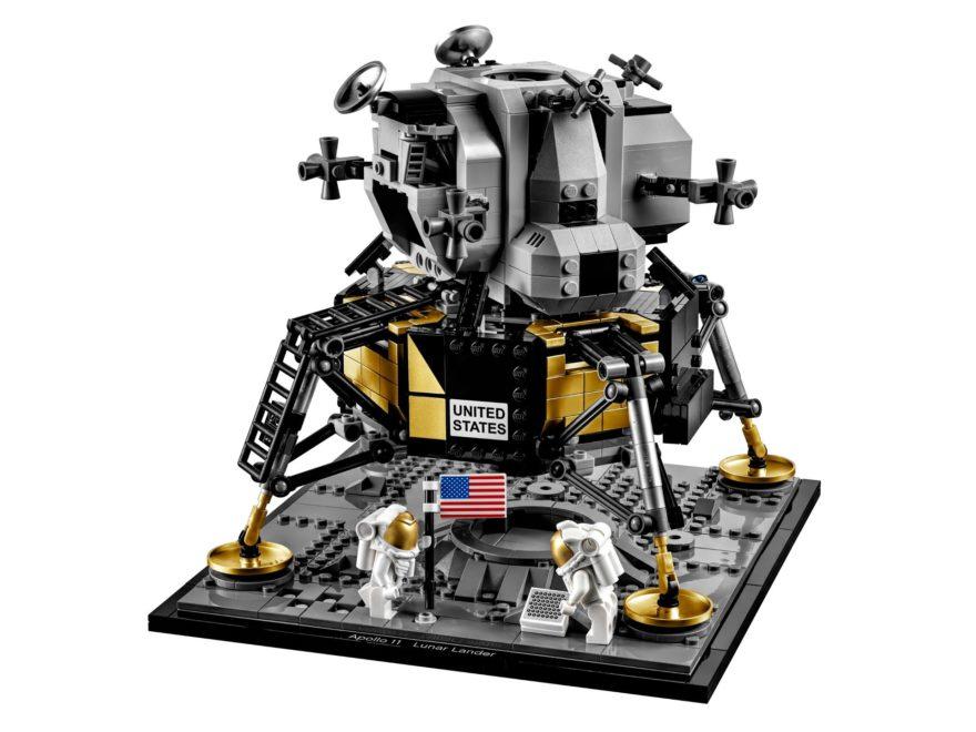LEGO® Creator Exper 10266 NASA Apollo 11 Mondlandefähre - Titelbild | ©LEGO Gruppe