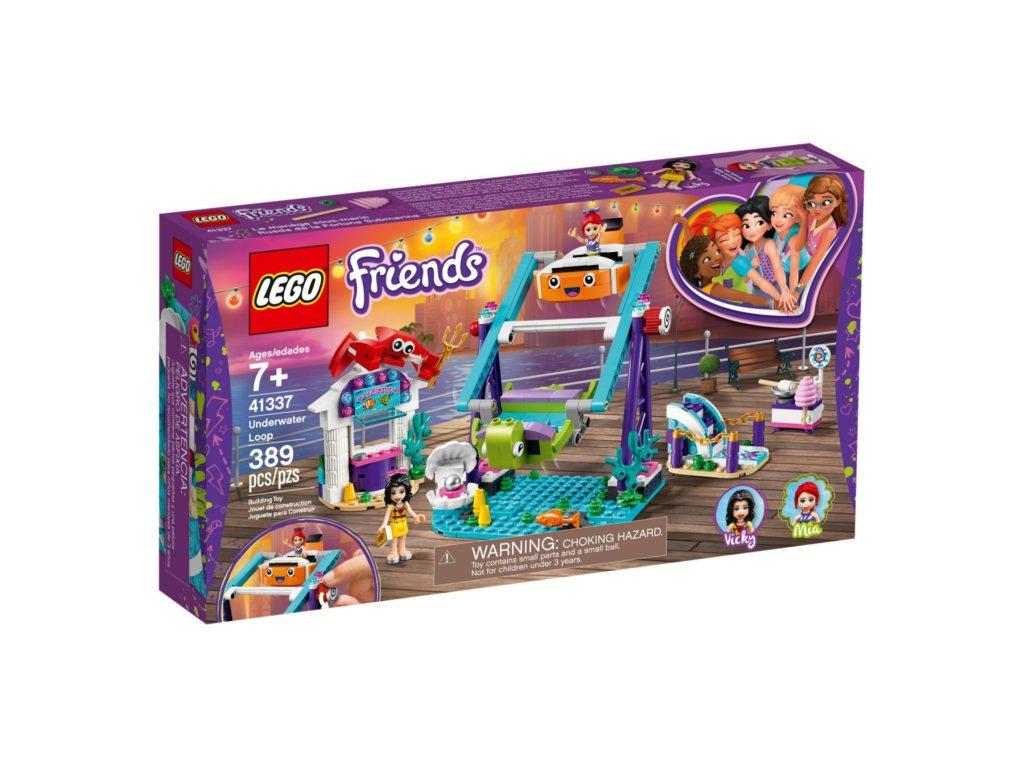 LEGO® Friends 41337 Schaukel mit Looping im Vergnügungspark | ©LEGO Gruppe