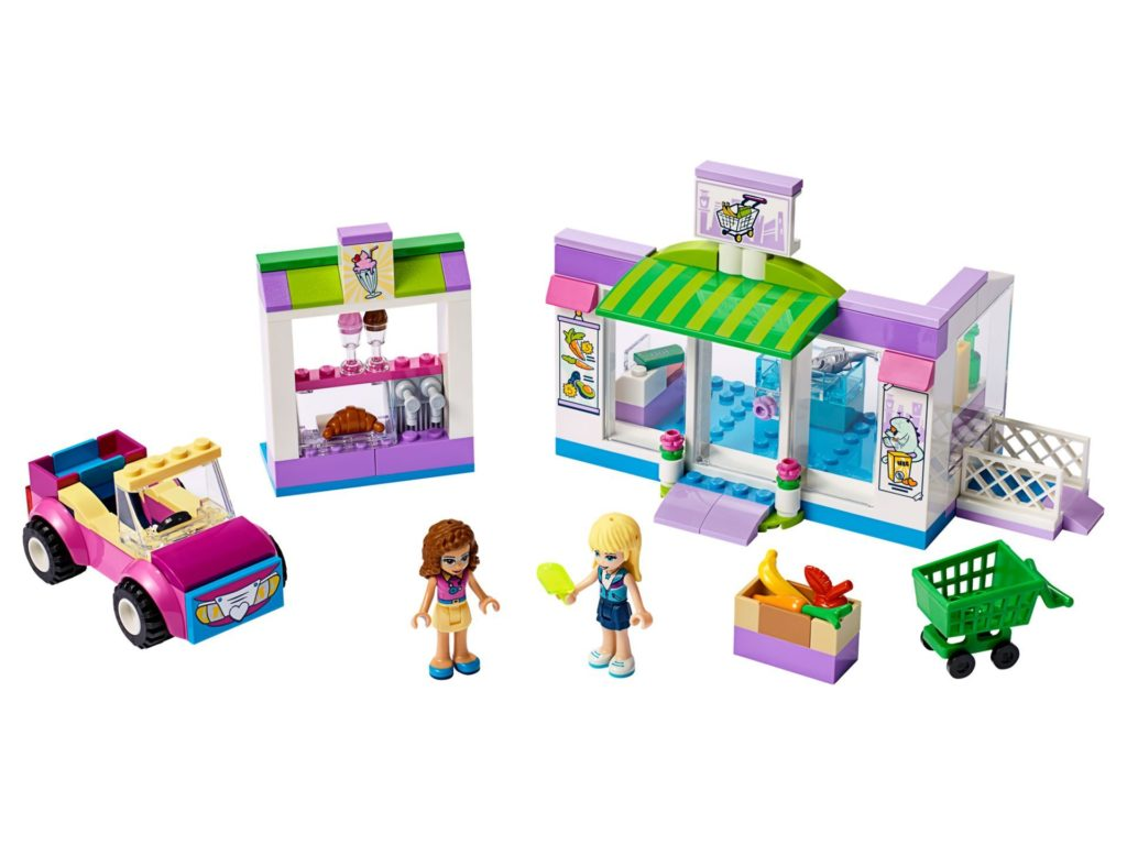 LEGO® Friends 41362 Supermarkt von Heartlake City | ©LEGO Gruppe