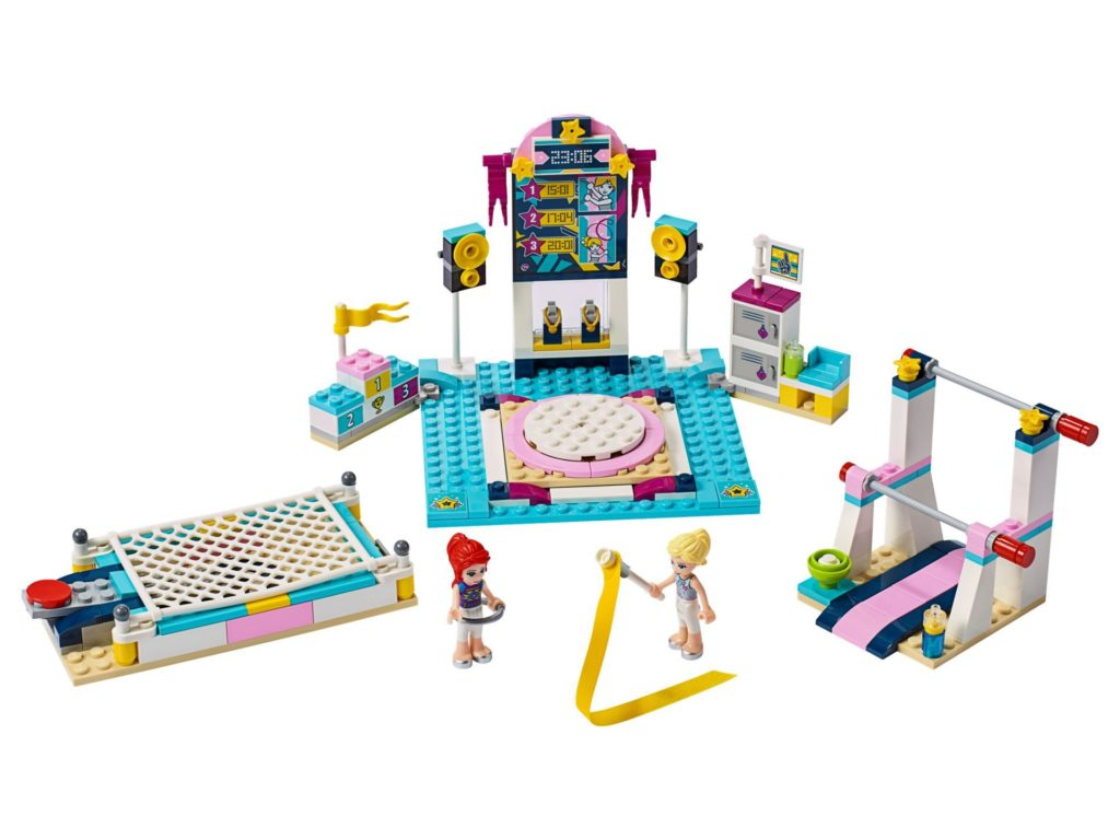 LEGO® Friends 41372 Stephanies Gymnastik-Show | ©LEGO Gruppe