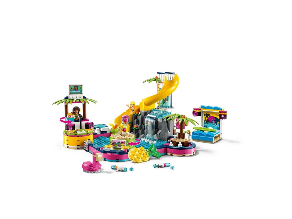 LEGO® Friends 41374 Andreas Pool-Party | ©LEGO Gruppe