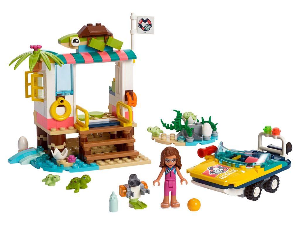LEGO® Friends 41376 Schildkröten-Rettungsstation | ©LEGO Gruppe