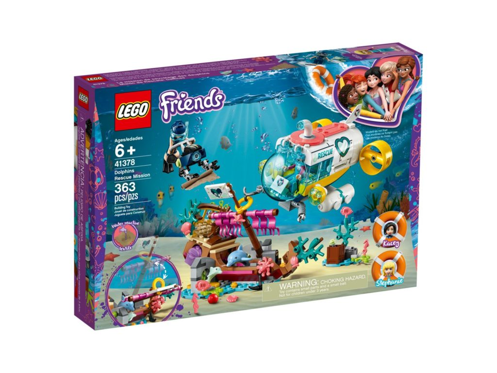 LEGO® Friends 41378 Rettungs-U-Boot für Delfine | ©LEGO Gruppe