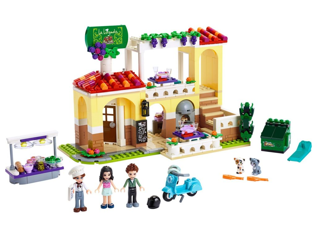 LEGO® Friends 41379 Heartlake City Restaurant | ©LEGO Gruppe