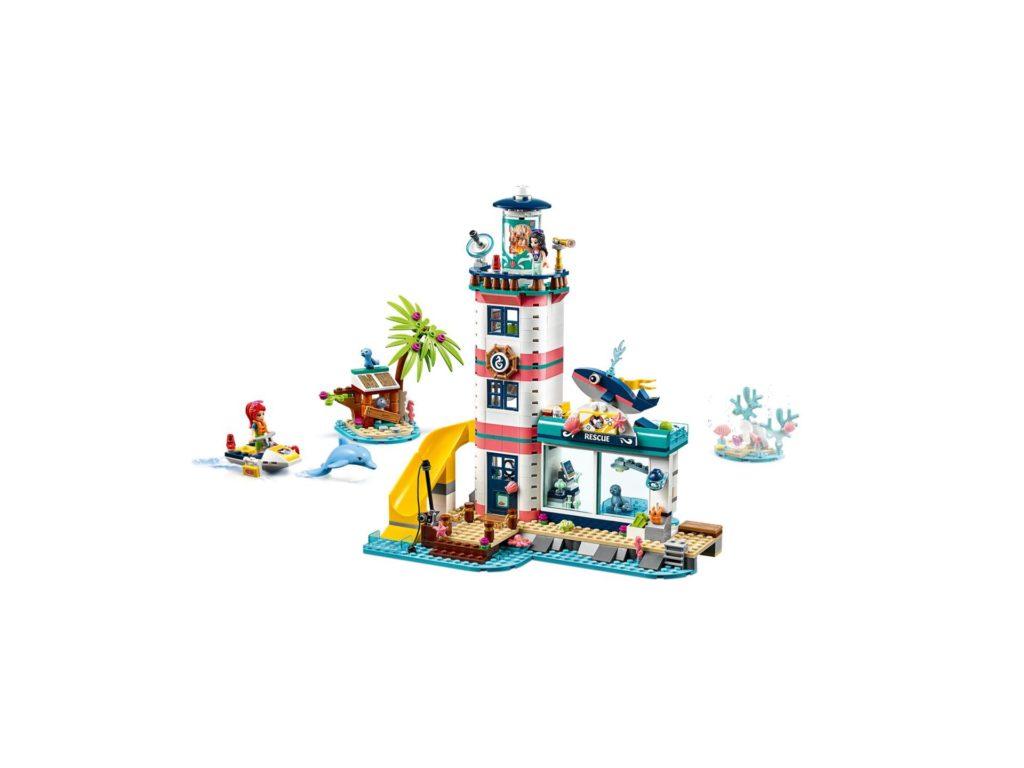 LEGO® Friends 41380 Leuchtturm mit Flutlicht | ©LEGO Gruppe