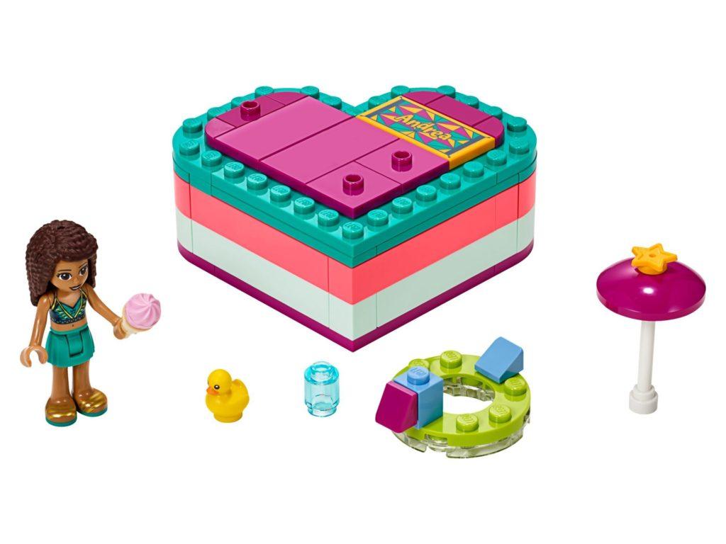 LEGO® Friends 41384 Andreas sommerliche Herzbox | ©LEGO Gruppe