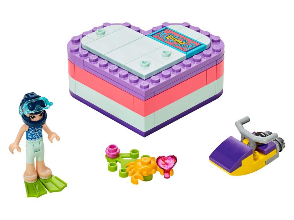 LEGO® Friends 41385 Emmas sommerliche Herzbox | ©LEGO Gruppe