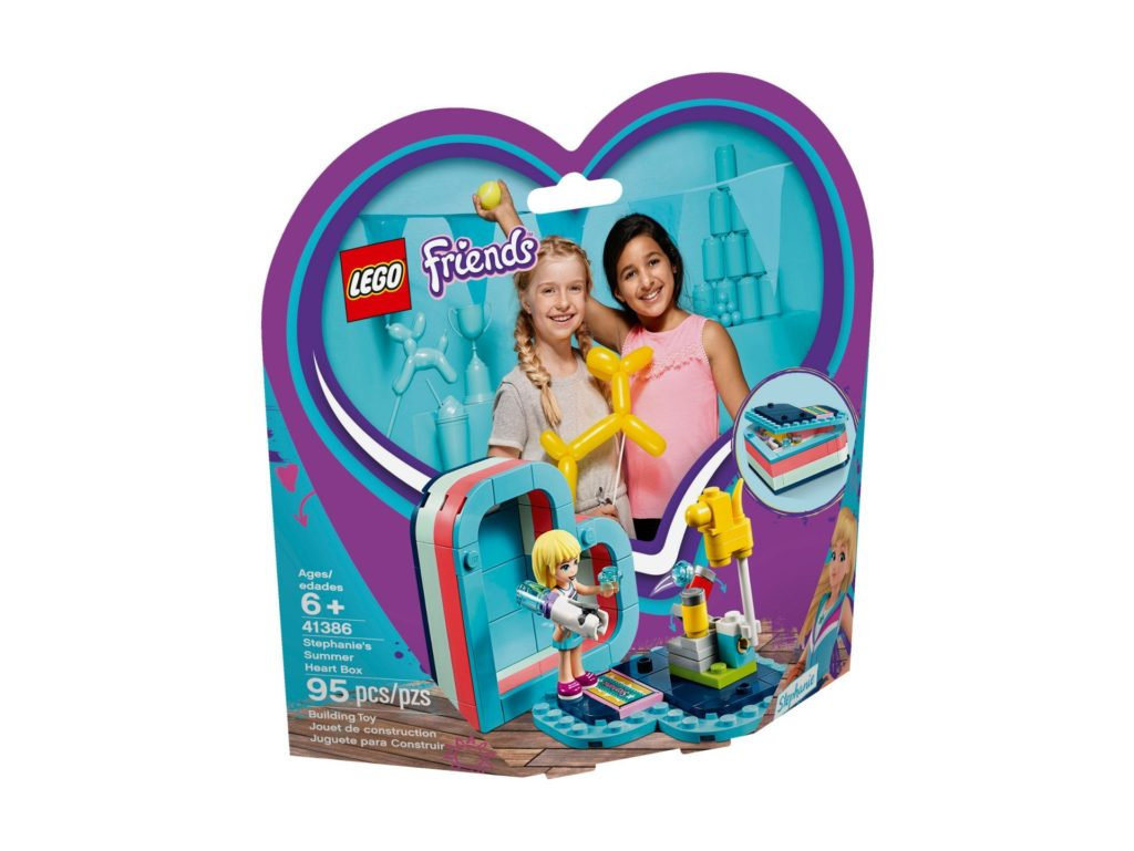 LEGO® Friends 41386 Stephanies sommerliche Herzbox | ©LEGO Gruppe