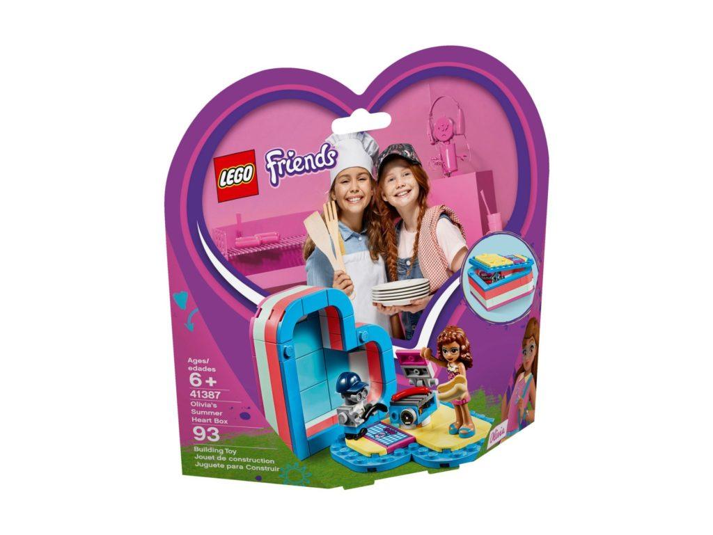 LEGO® Friends 41387 Olivias sommerliche Herzbox | ©LEGO Gruppe