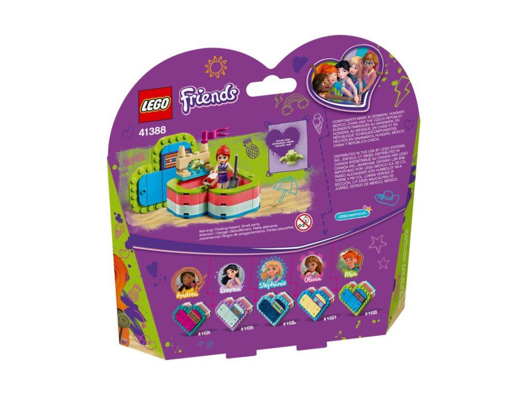LEGO® Friends 41388 Mias sommerliche Herzbox | ©LEGO Gruppe