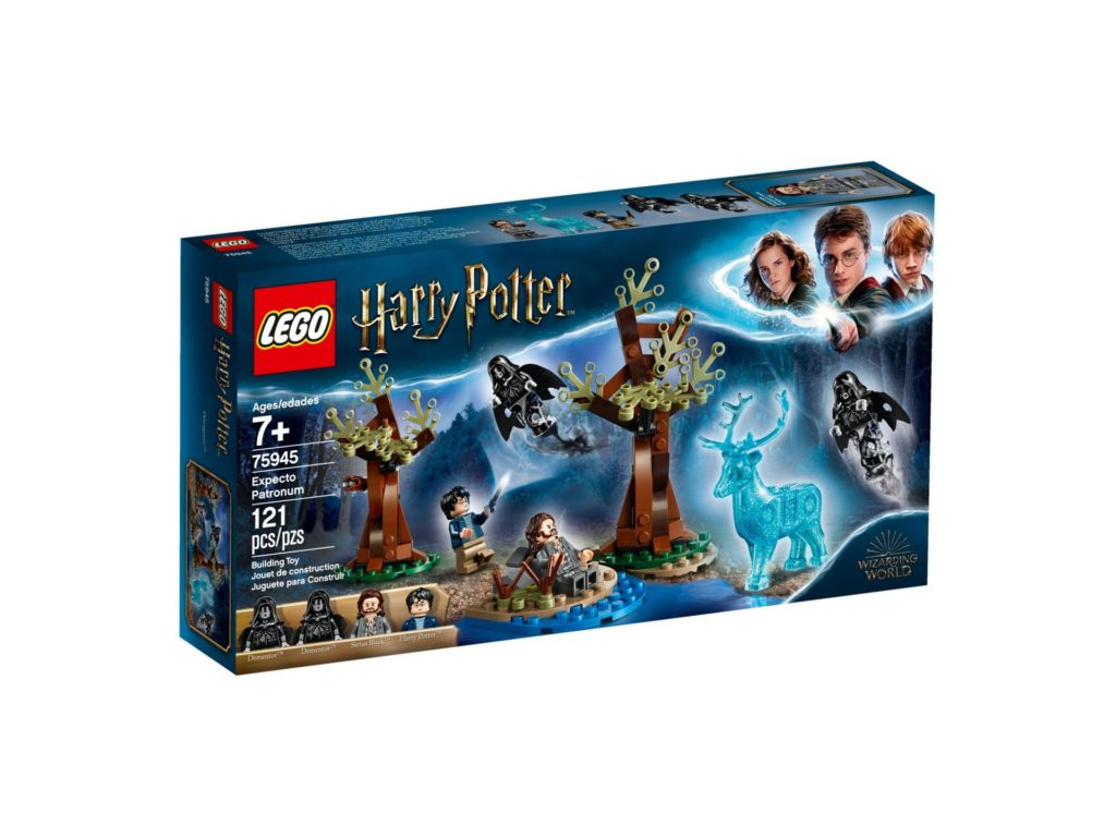 LEGO® Harry Potter™ 75945 Expecto Patronum - Packung, Vorderseite | ©LEGO Gruppe