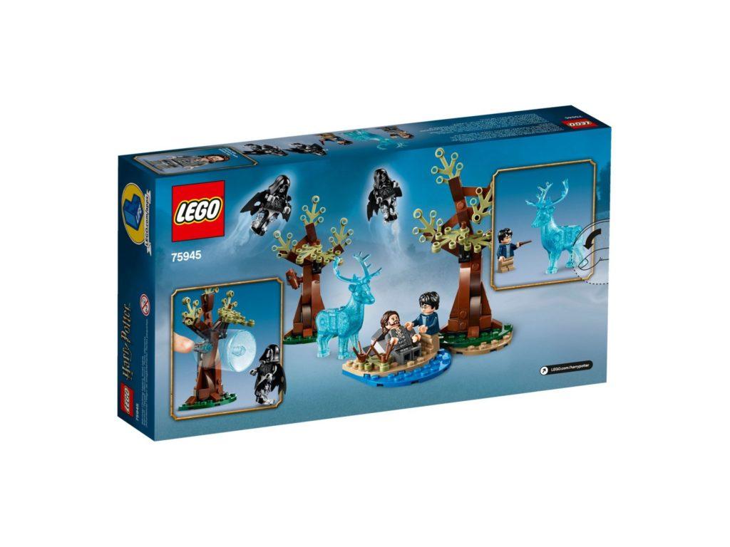 LEGO® Harry Potter™ 75945 Expecto Patronum - Packung, Rückseite | ©LEGO Gruppe