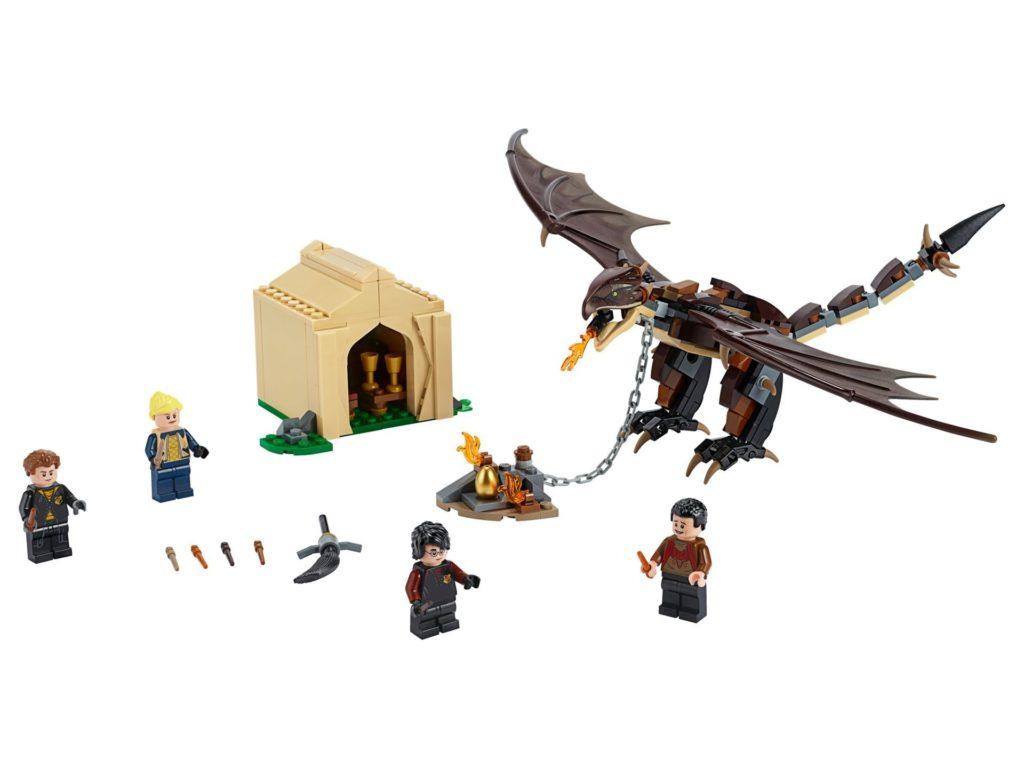 LEGO® Harry Potter™ 75946 Ungarischer Hornschwanz aus Trimagischem Turnier | ©LEGO Gruppe