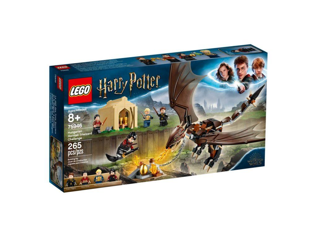 LEGO® Harry Potter™ 75946 Ungarischer Hornschwanz aus Trimagischem Turnier - Packung, Vorderseite | ©LEGO Gruppe