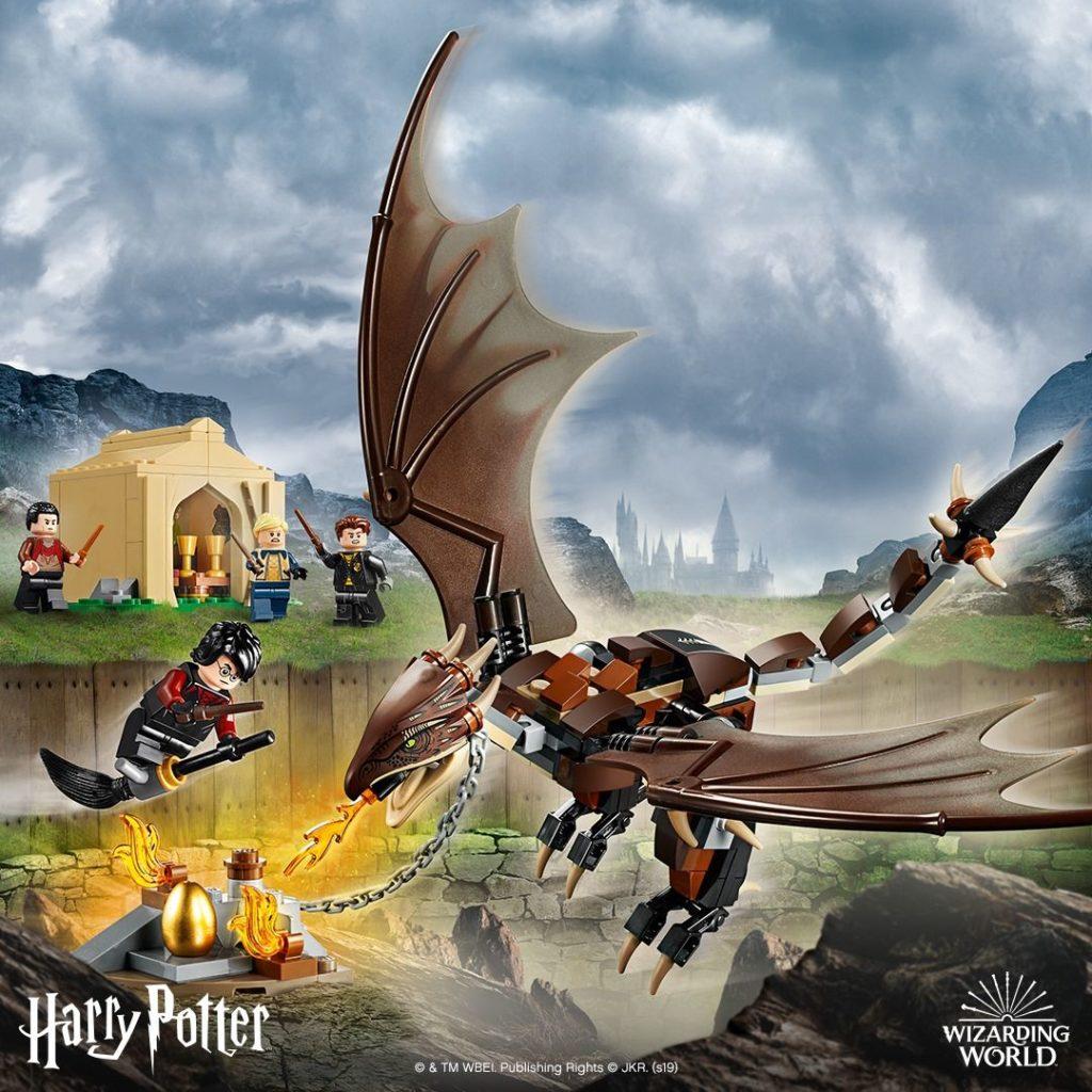 LEGO® Harry Potter™ 75946 Ungarischer Hornschwanz aus Trimagischem Turnier - FB | ©LEGO Gruppe