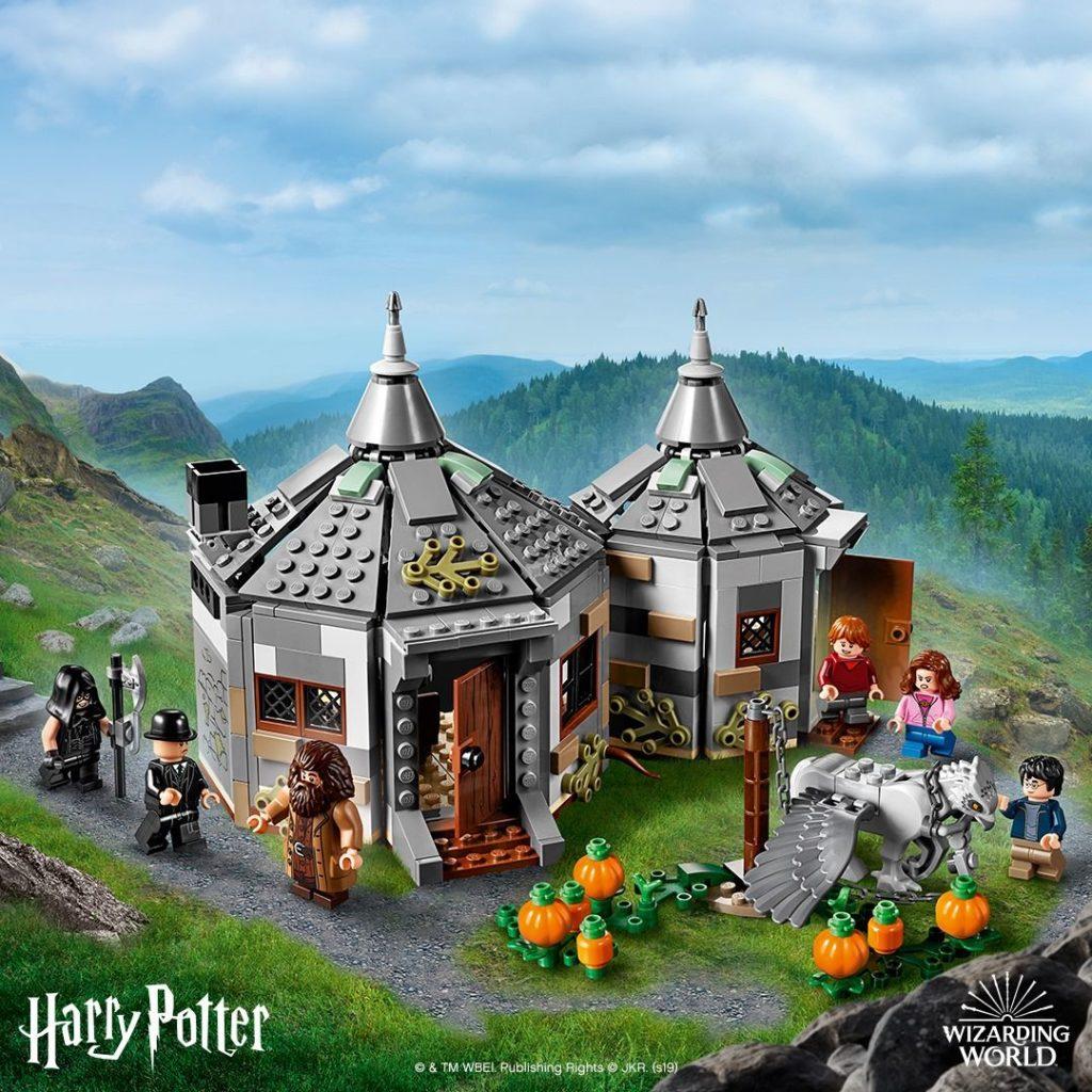 LEGO® Harry Potter™ 75947 Hagrids Hütte - FB | ©LEGO Gruppe