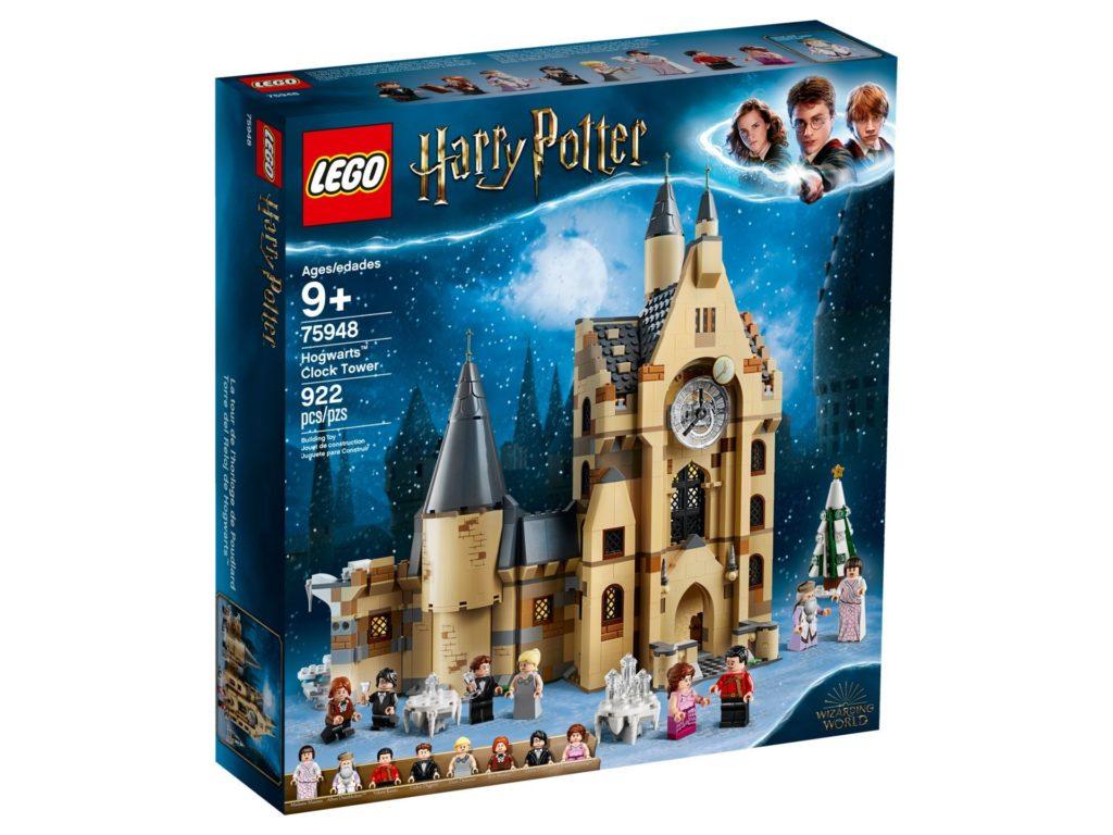 LEGO® Harry Potter™ 75948 Hogwarts Glockenturm - Packung, Vorderseite | ©LEGO Gruppe