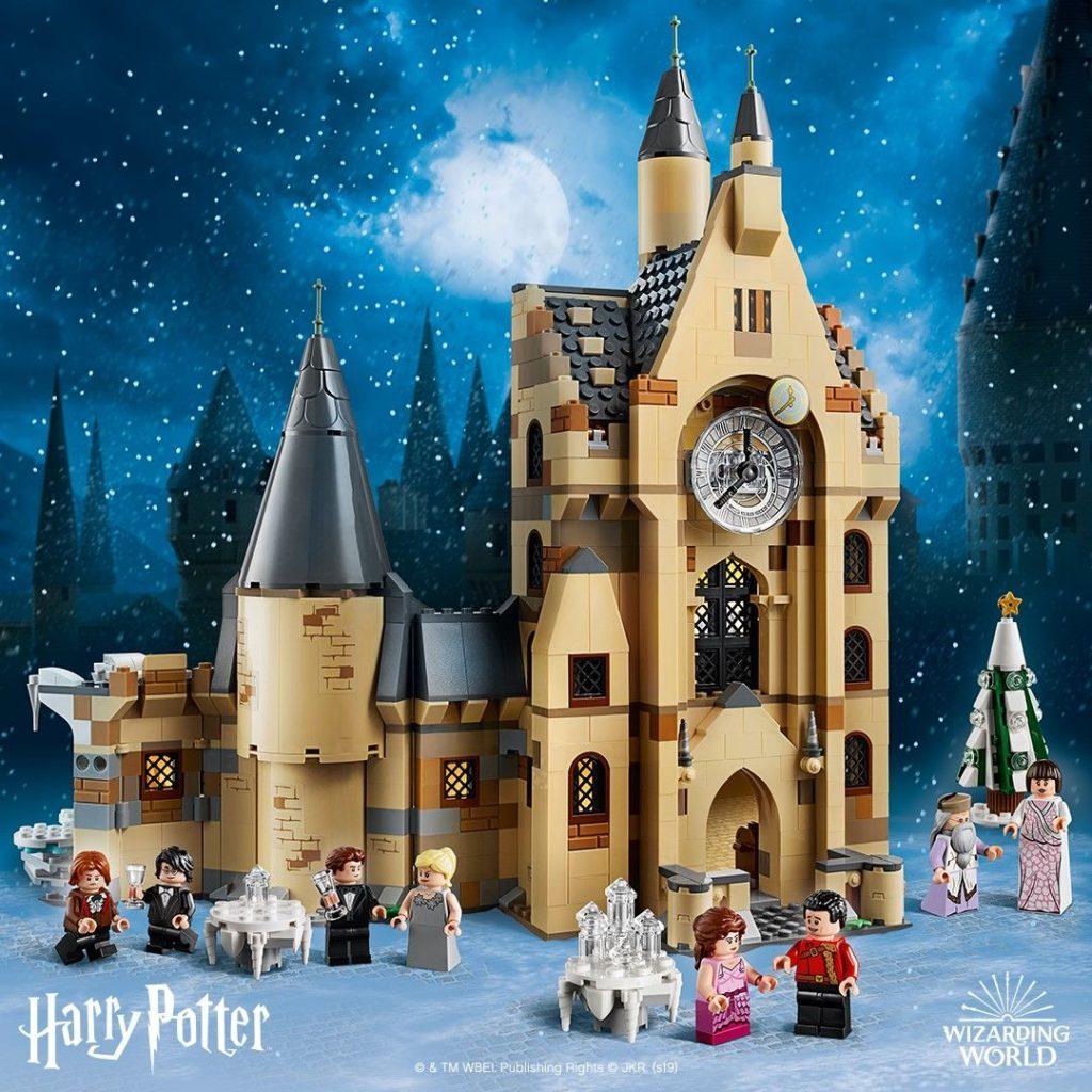 LEGO® Harry Potter™ 75948 Hogwarts Glockenturm - FB | ©LEGO Gruppe